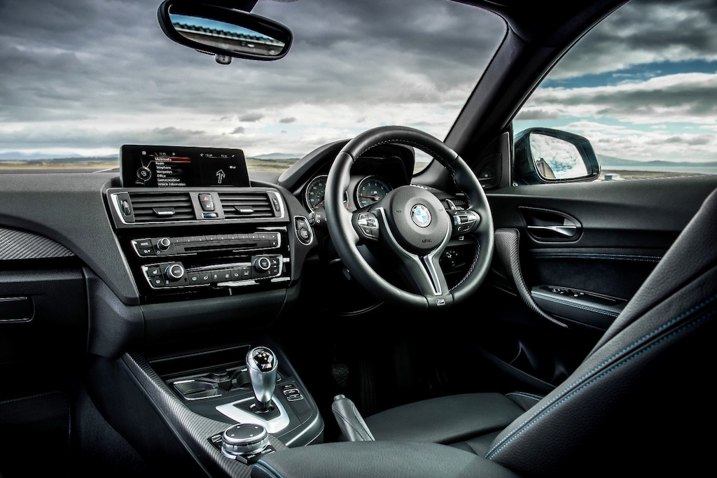 BMW M2 coupe front interior copy