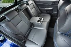 Subaru Levorg rear seating