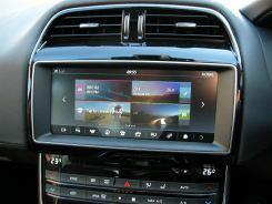 Jaguar XE new touchscreen functions