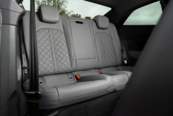 Audi S5 Coupe rear seats