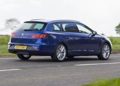 SEAT Leon ST estate version.