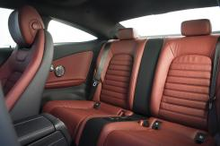 Mercedes-Benz C Class Coupe inside rear