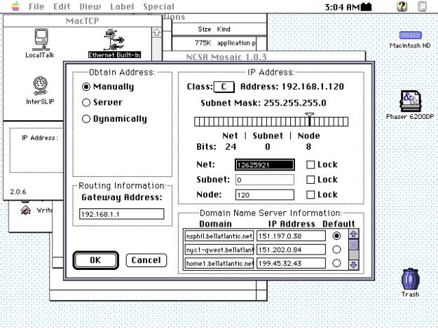 macTCP 1993