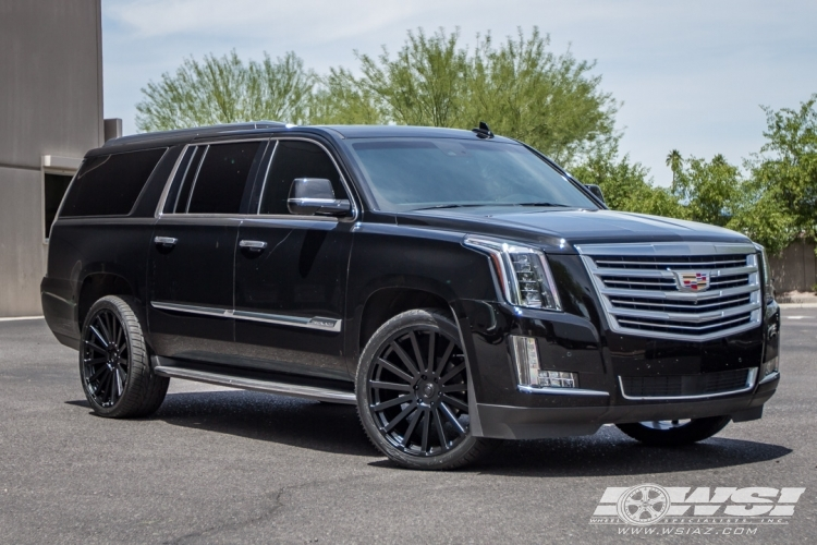 Blacked Out Escalade 2017