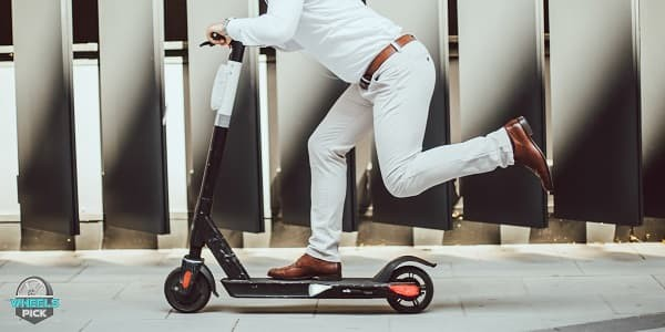 Riding Style of Electric Scooter