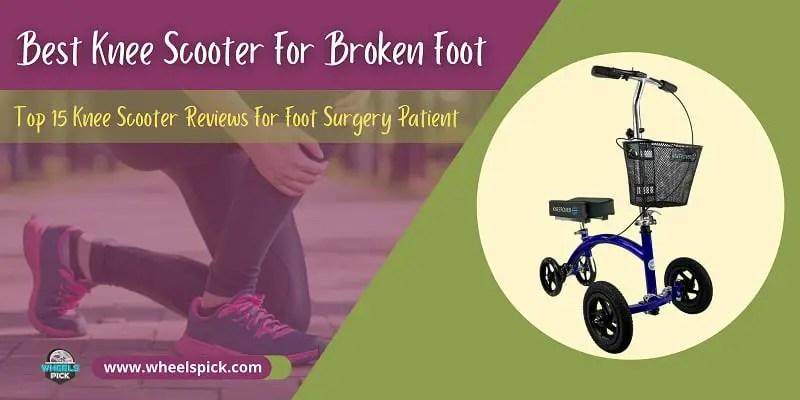 Best-Knee-Scooter-For-Broken-Foot
