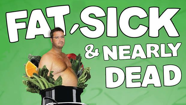 Documentary about a plant-based diet: Fat, Sick and Nearly Dead