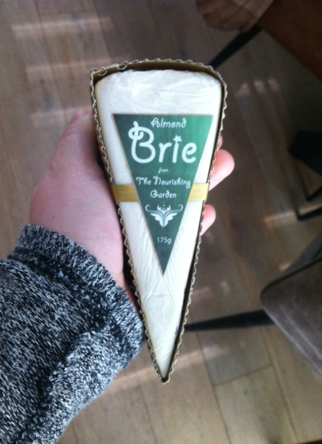 Vegan taste test: Brie and Shrimps