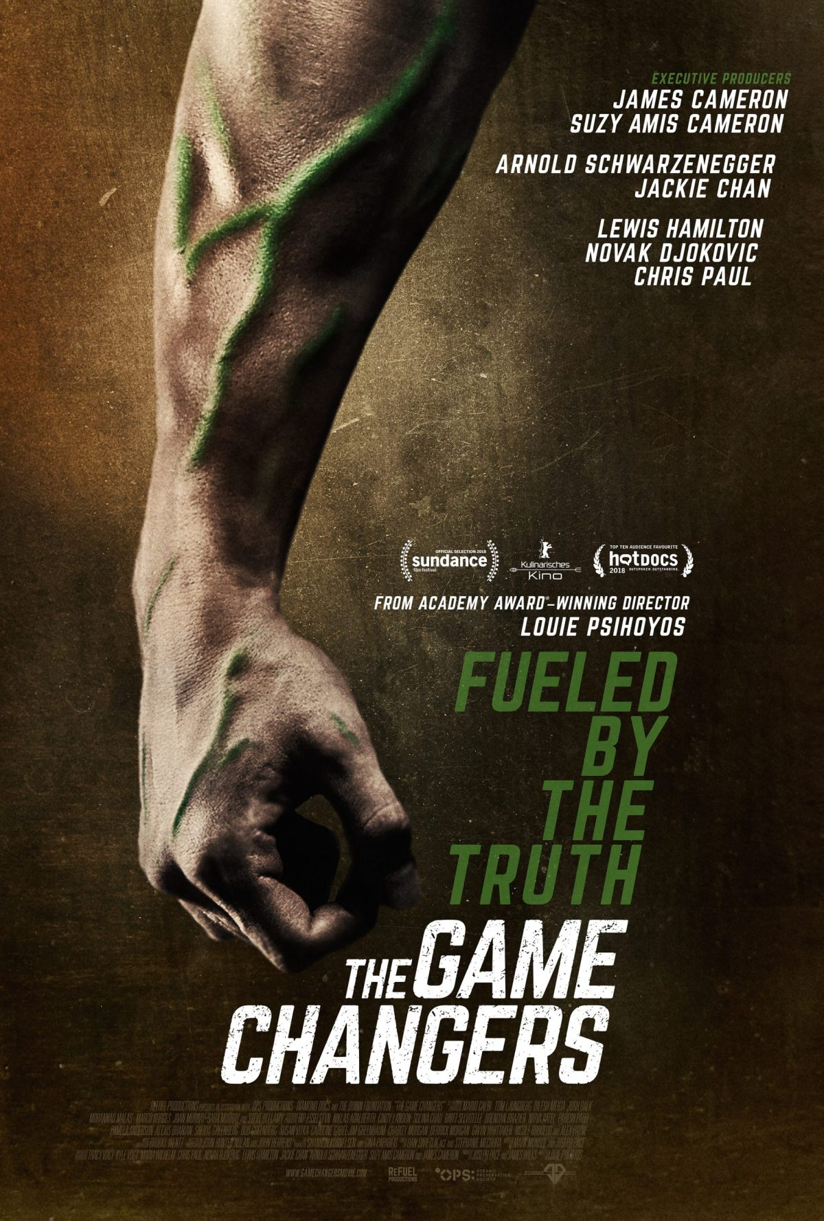 Documentary about a plant-based diet: The Gamechangers
