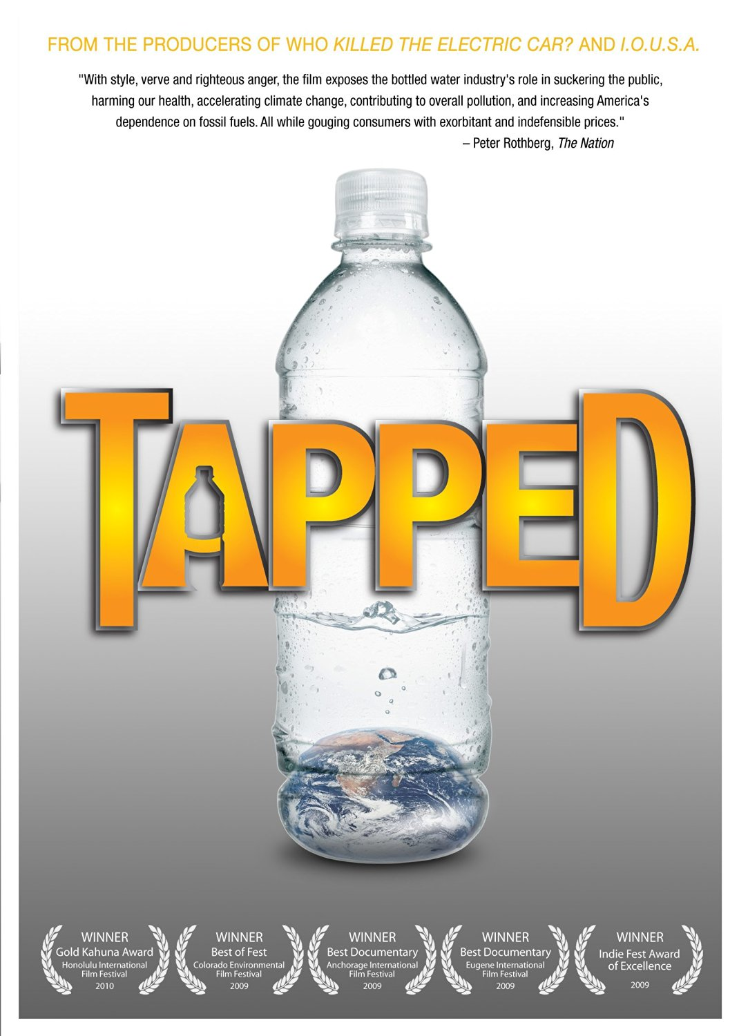 Documentary about bottled water: Tapped