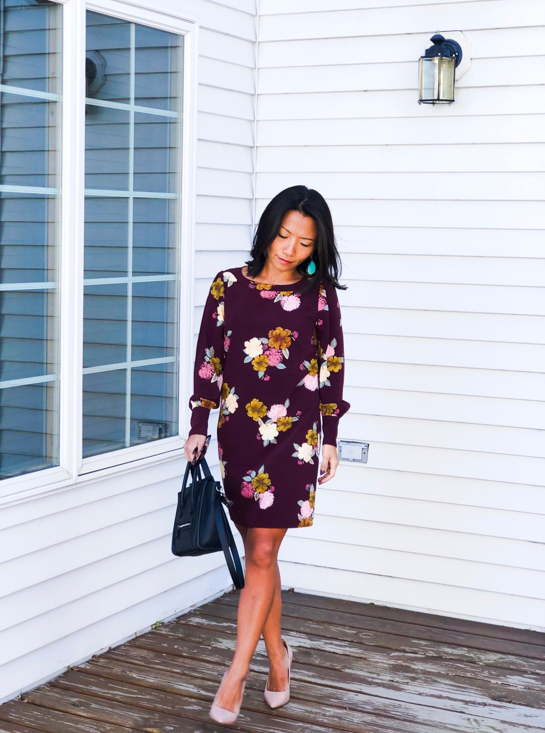 137a9a0d7c For instance, my LOFT Floral Cuffed Shift Dress is on clearance sale now  for only $18!!!