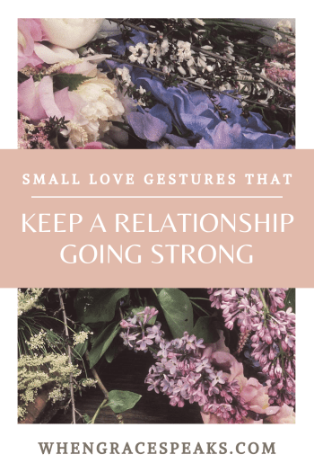 SMALL LOVE GESTURES