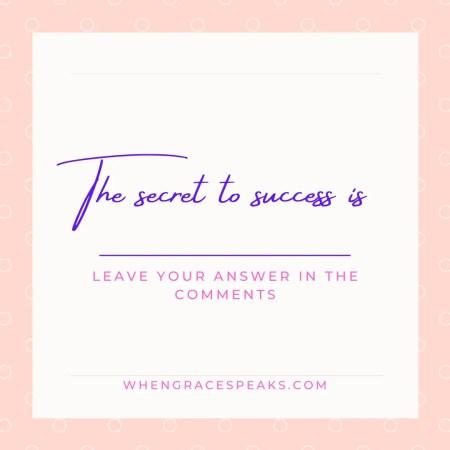 secret to manifesting instantly