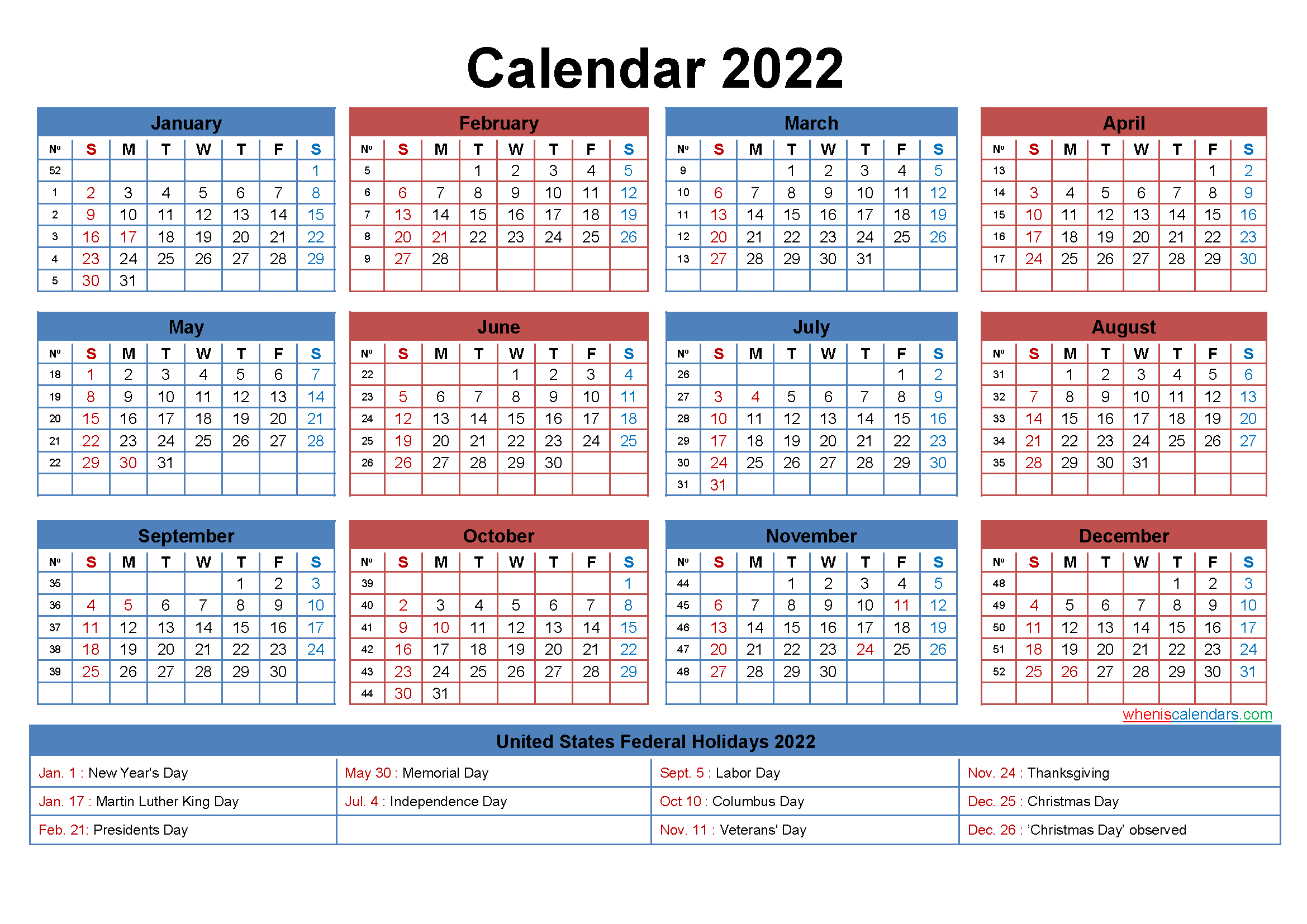 What's more, the technology is accelerating at an exponential. Free Printable 2022 Calendar with Holidays as Word, PDF