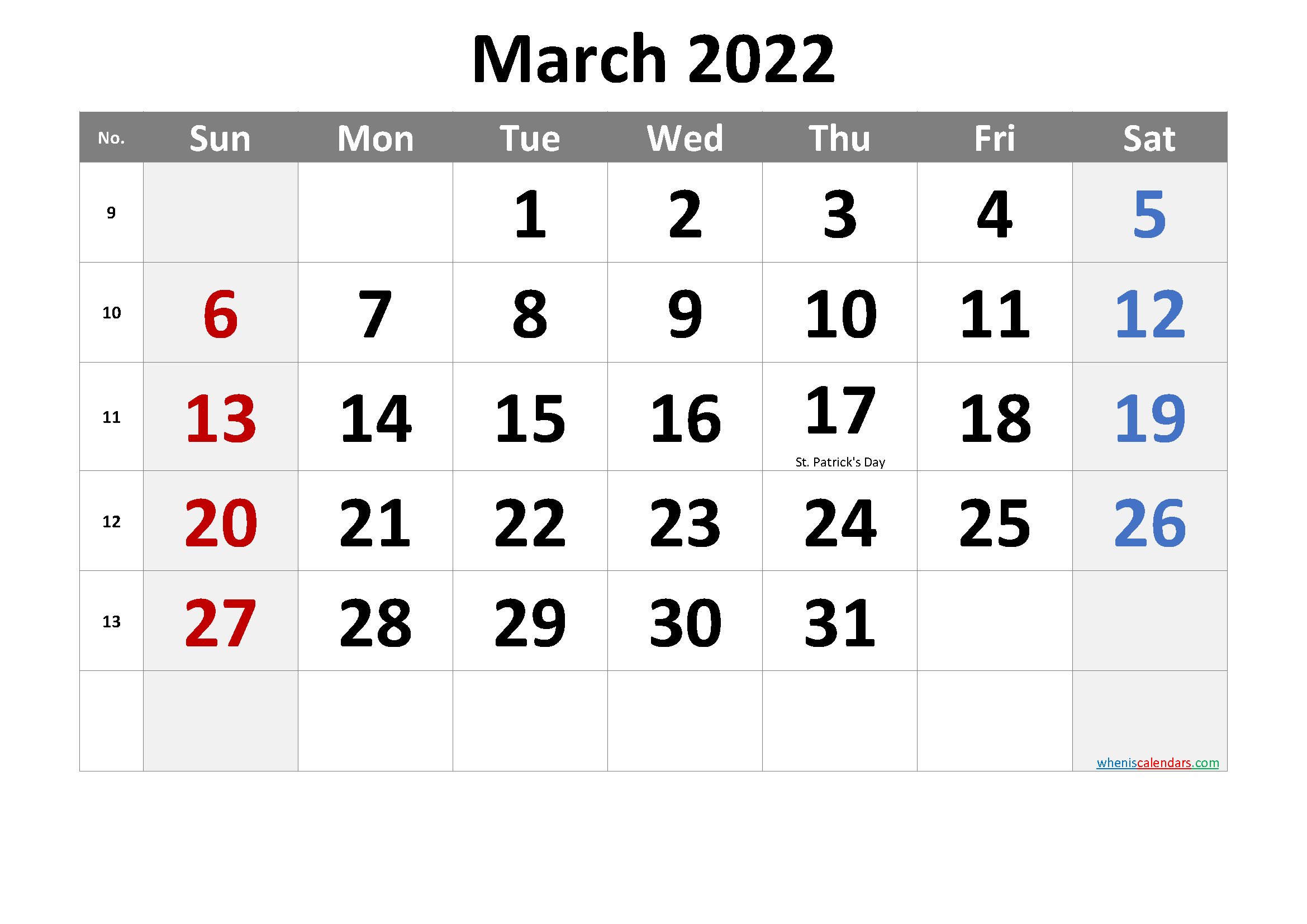 Prior month expectations as reported by reuters last week&aposs calendar this article was written by a staff member of thestreet.com. March 2022 Printable Calendar with Holidays