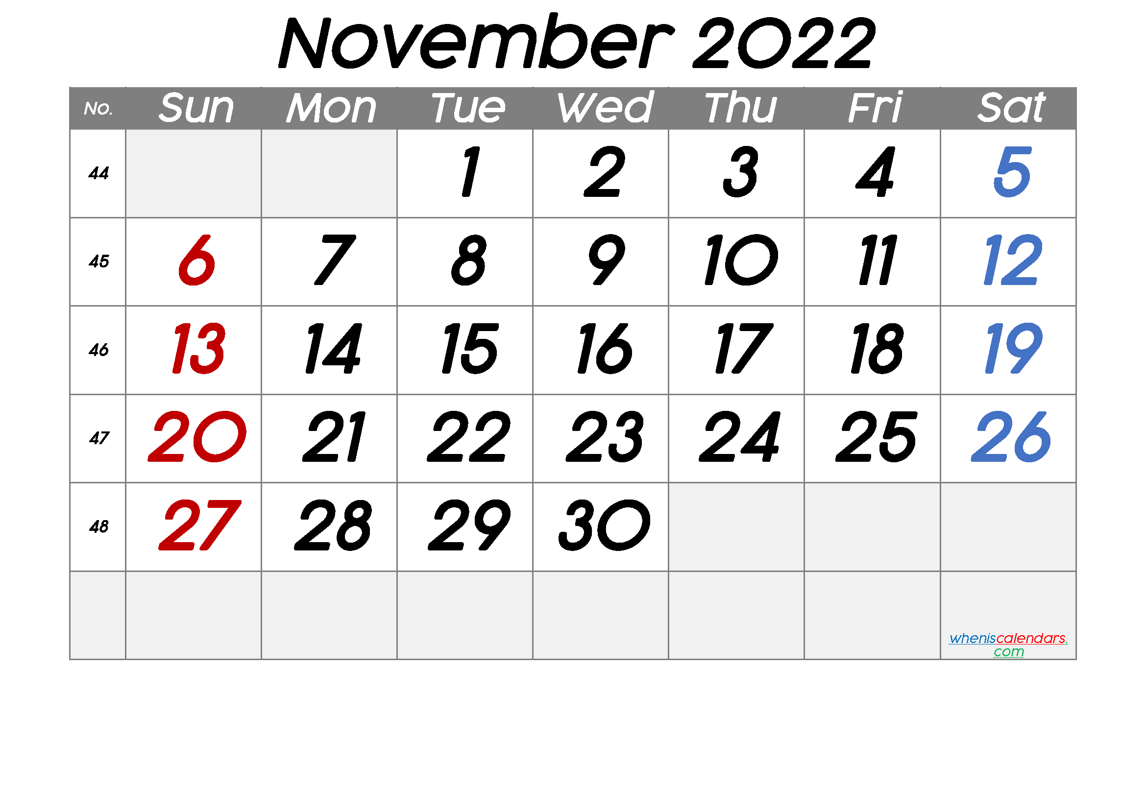 We are proud to offer a variety of seminars and programs that are pertinent to the varied work we do. Free Printable November 2022 Calendar with Week Numbers