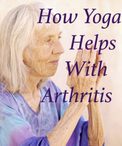 How yoga helps with arthritis