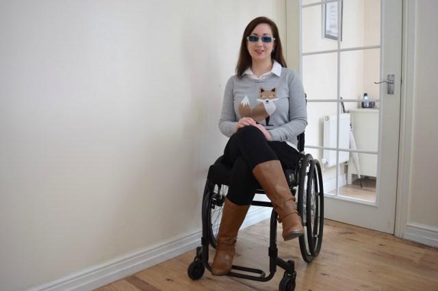 Preppy Fox, wheelchair fashion, Maternity Capsule Wardrobe,