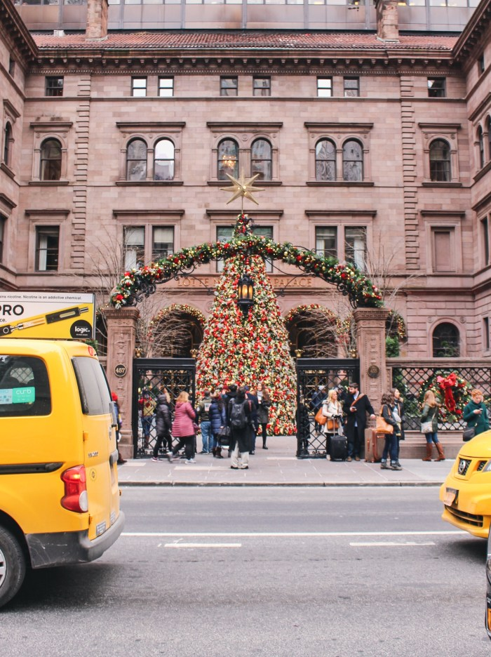 palace hotel tree