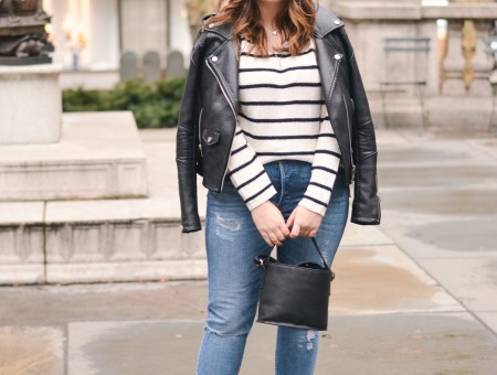 A Striped Spring Transition