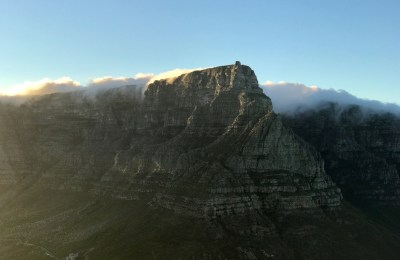 Table Mountain and the tablecloth