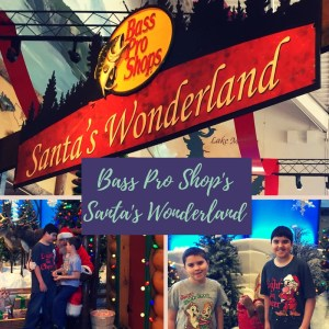 Bass Pro Shop Santa's Wonderland: Free Santa pictures and activities for kids.
