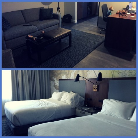 Embassy Suites Downtown Amarillo- two room Suite