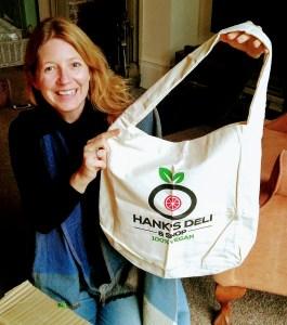 organic shoulder bag