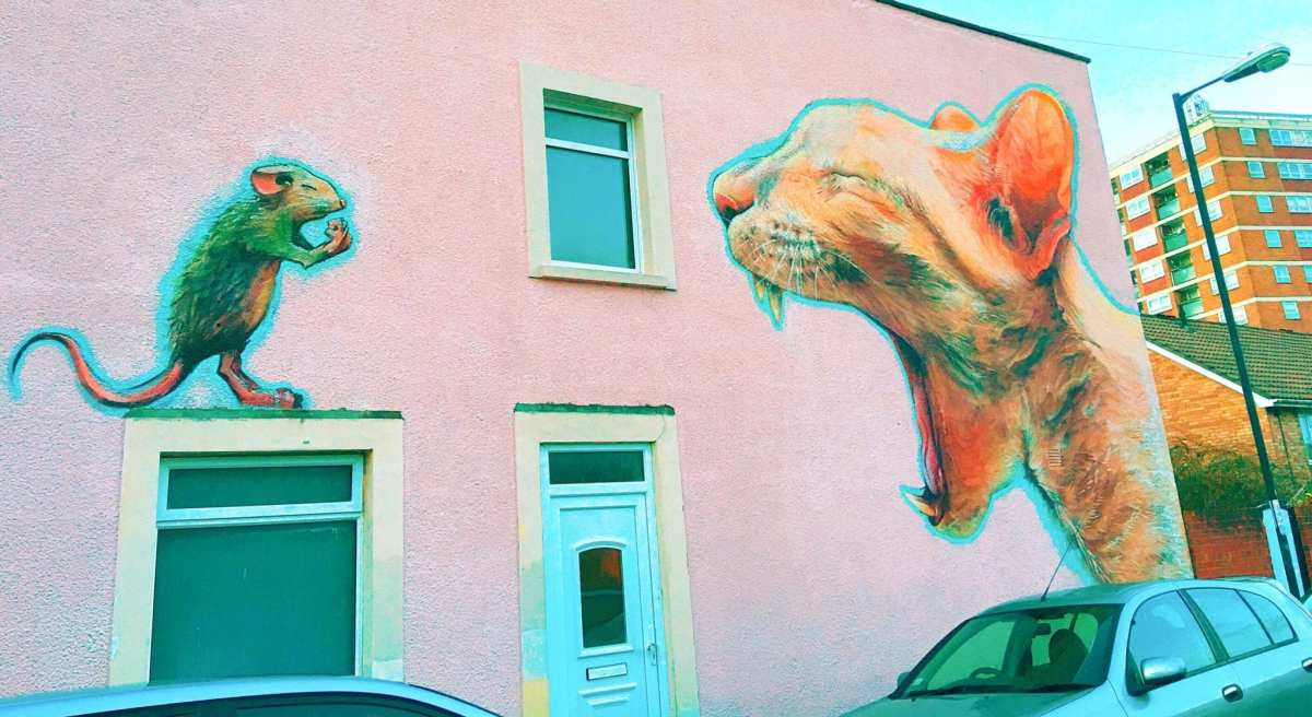 Where to find the Bristol street art