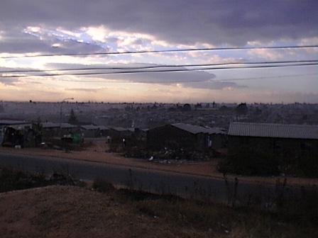 Notte a Soweto