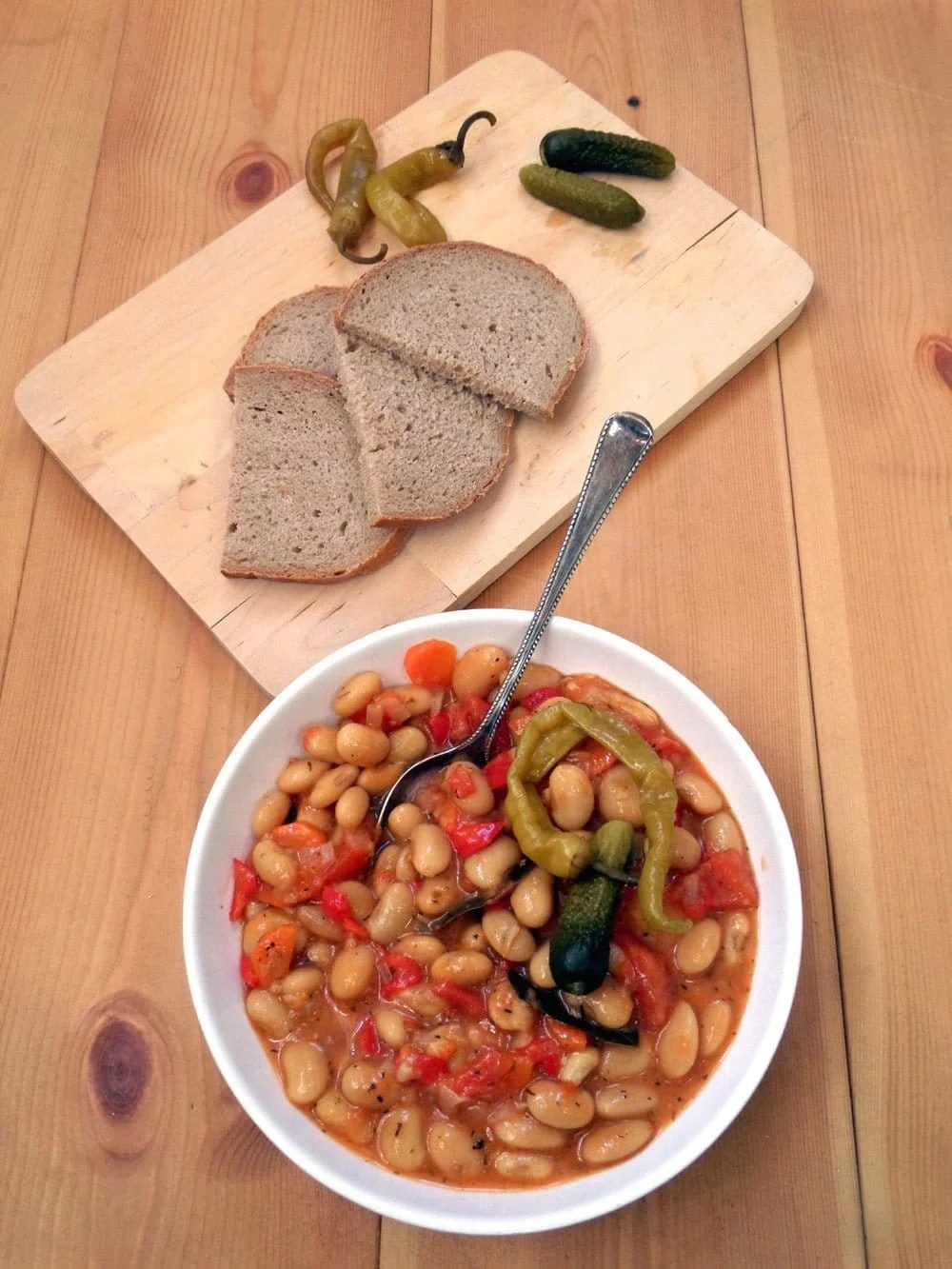 the best beans vegan2 Grandmas Perfect Bean and Vegetable Stew   Romanian Beans