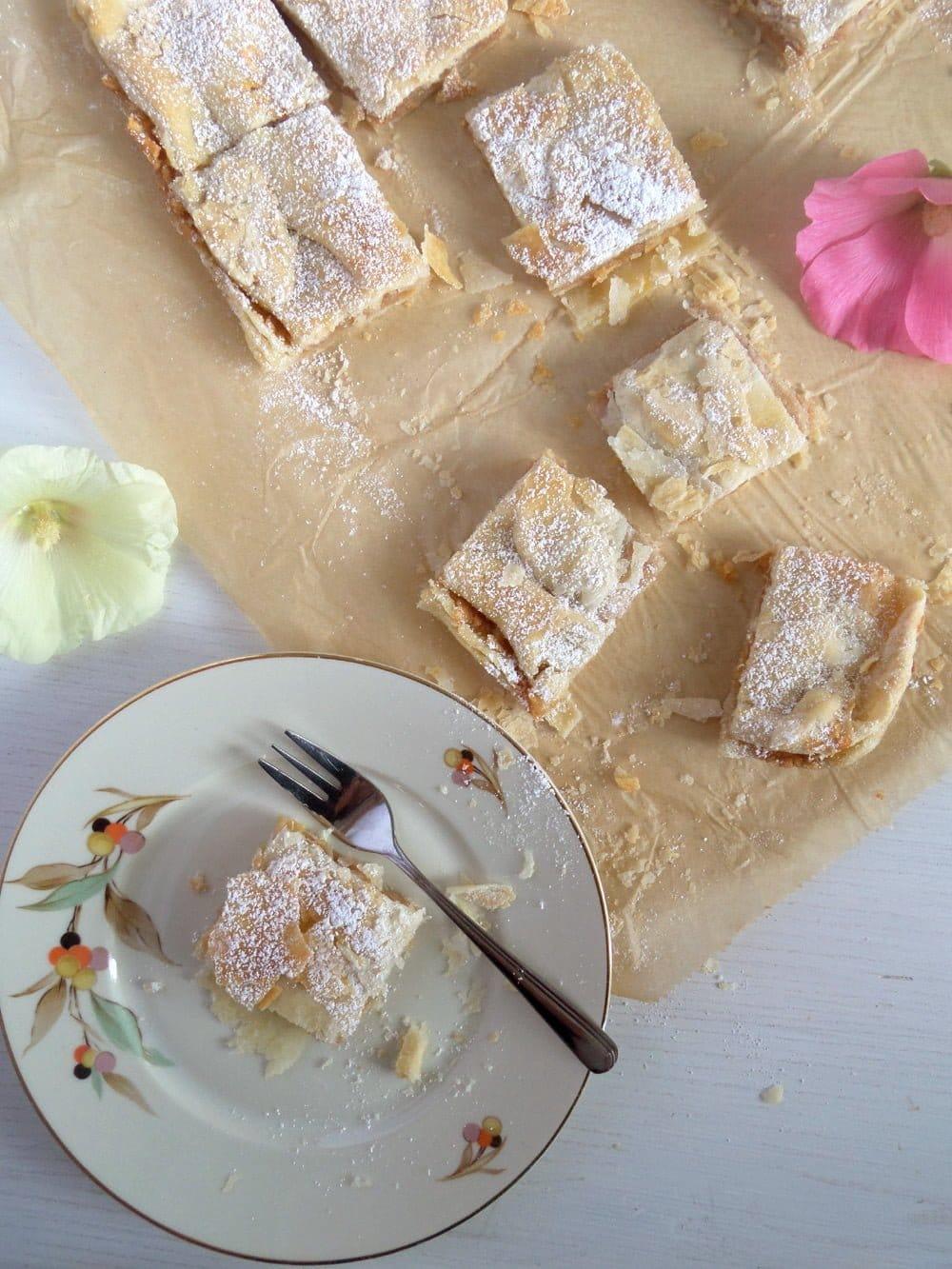 apple cake pastry Getas Apple Cake