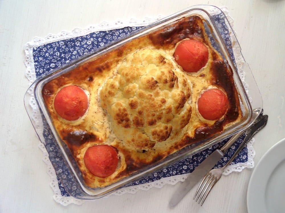 cauliflower casserole beef Cauliflower Beef Casserole