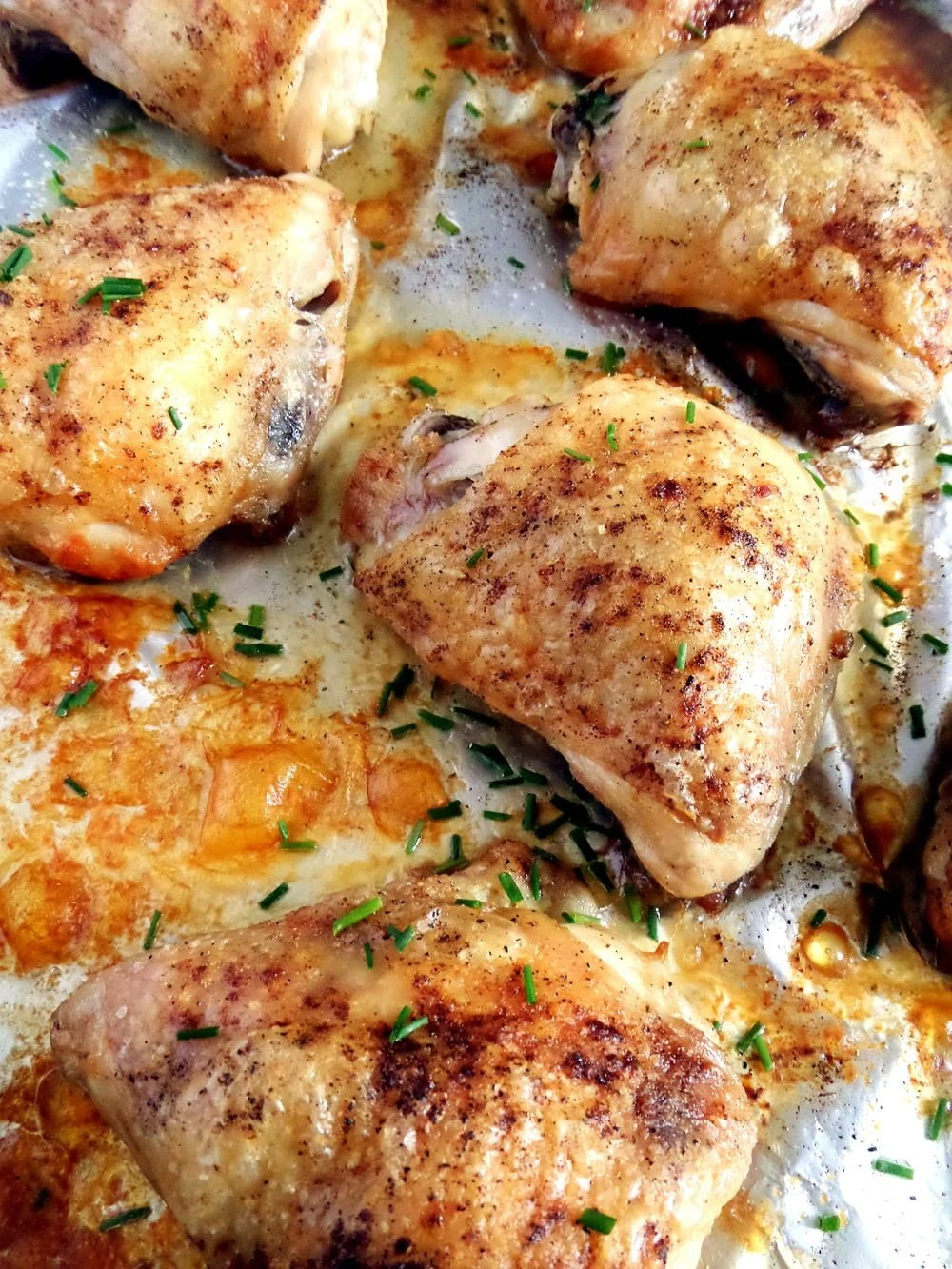 chicken thighs basic f Basic Skillet Chicken Breasts