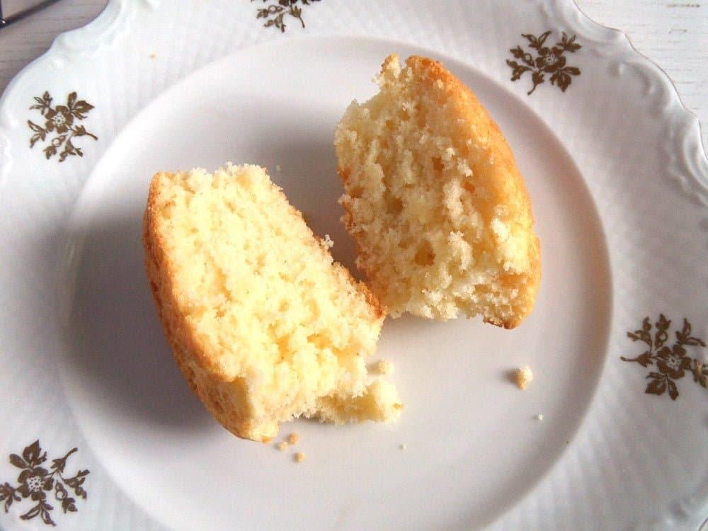 sour cream simple muffins Sour Cream Muffins