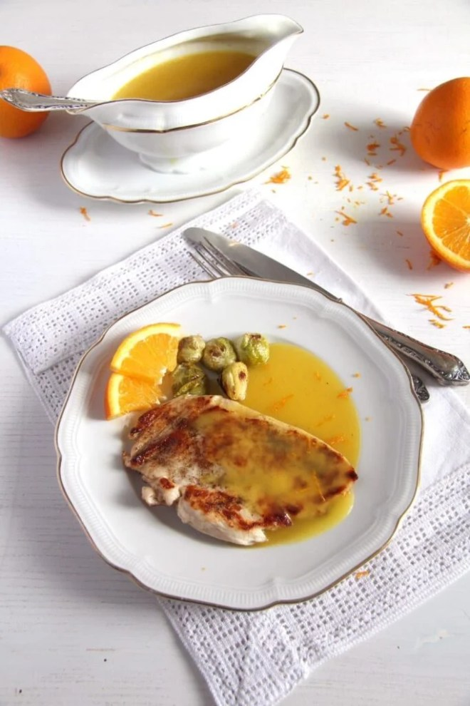 chicken and orange sauce 683x1024 Chicken with Orange Sauce