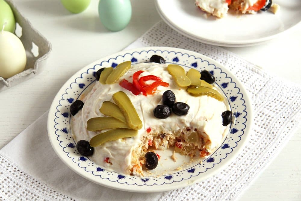 boeuf salad Romanian Boeuf Salad