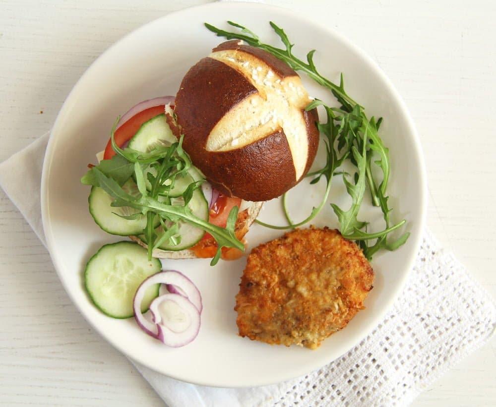 schnitzel oven baked How to Make Oven Baked Schnitzel and Schnitzel Burgers
