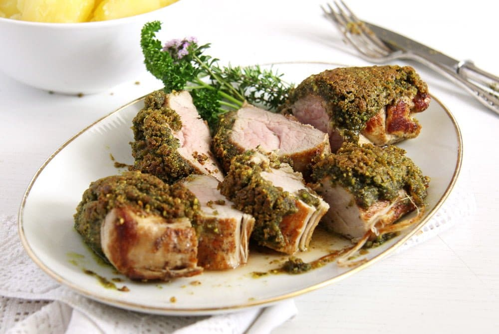 pork tenderloin herbs Herbed Pork Tenderloin