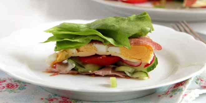 """Salad """"Torte"""""""