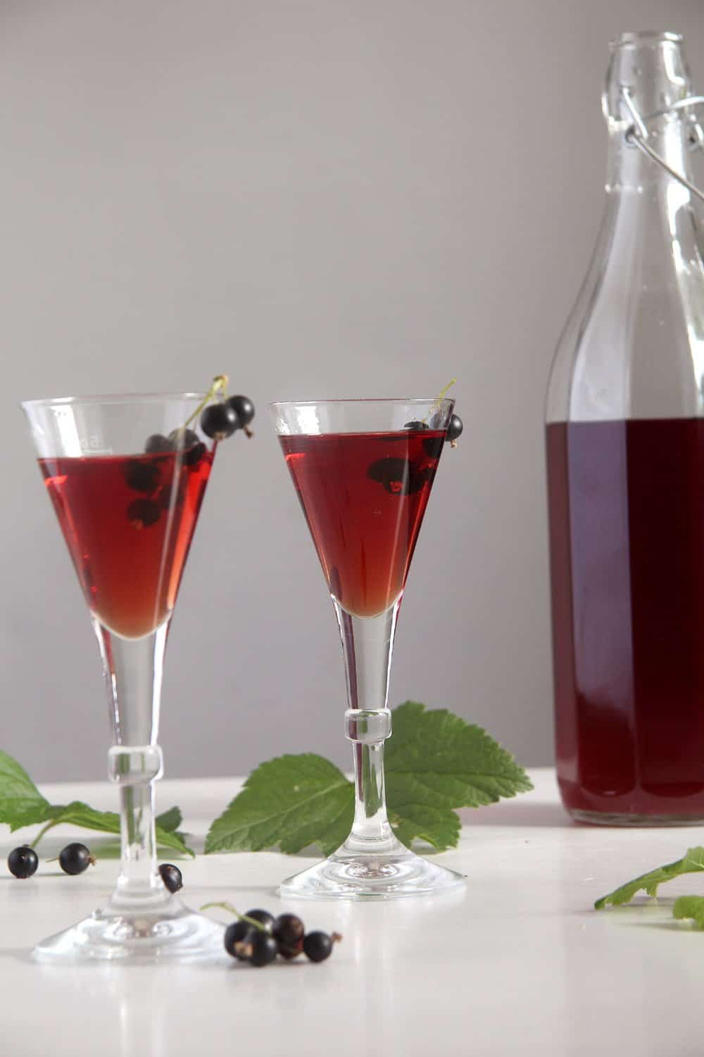 creme cassis drinks Homemade Crème de Cassis or Black Currant Liquor