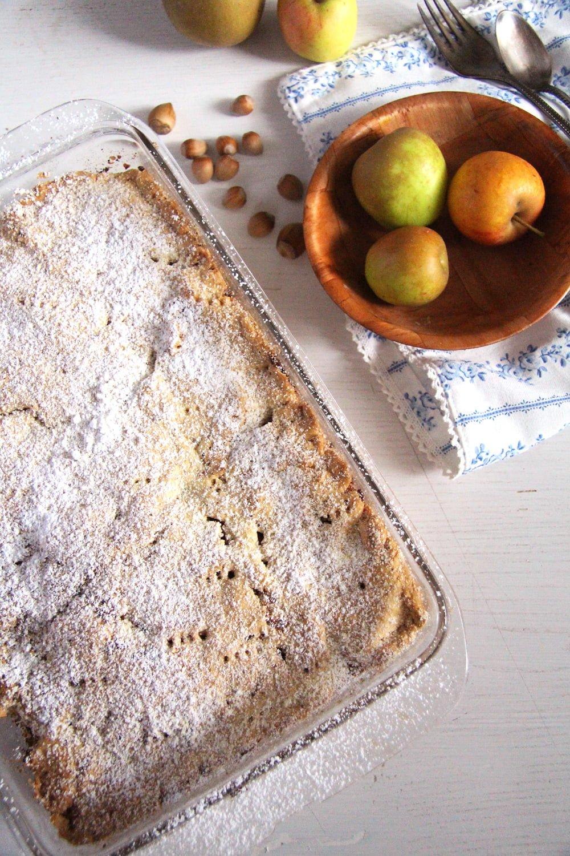 apple hazelnuts Apple Hazelnut Pie