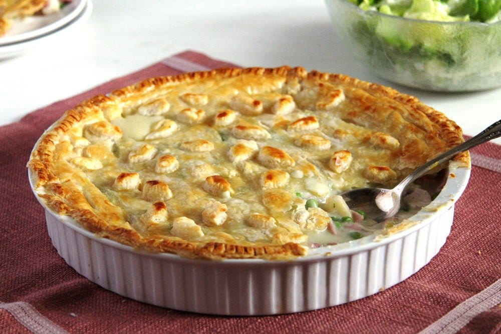 chicken ham peas pie Chicken and Ham Pie