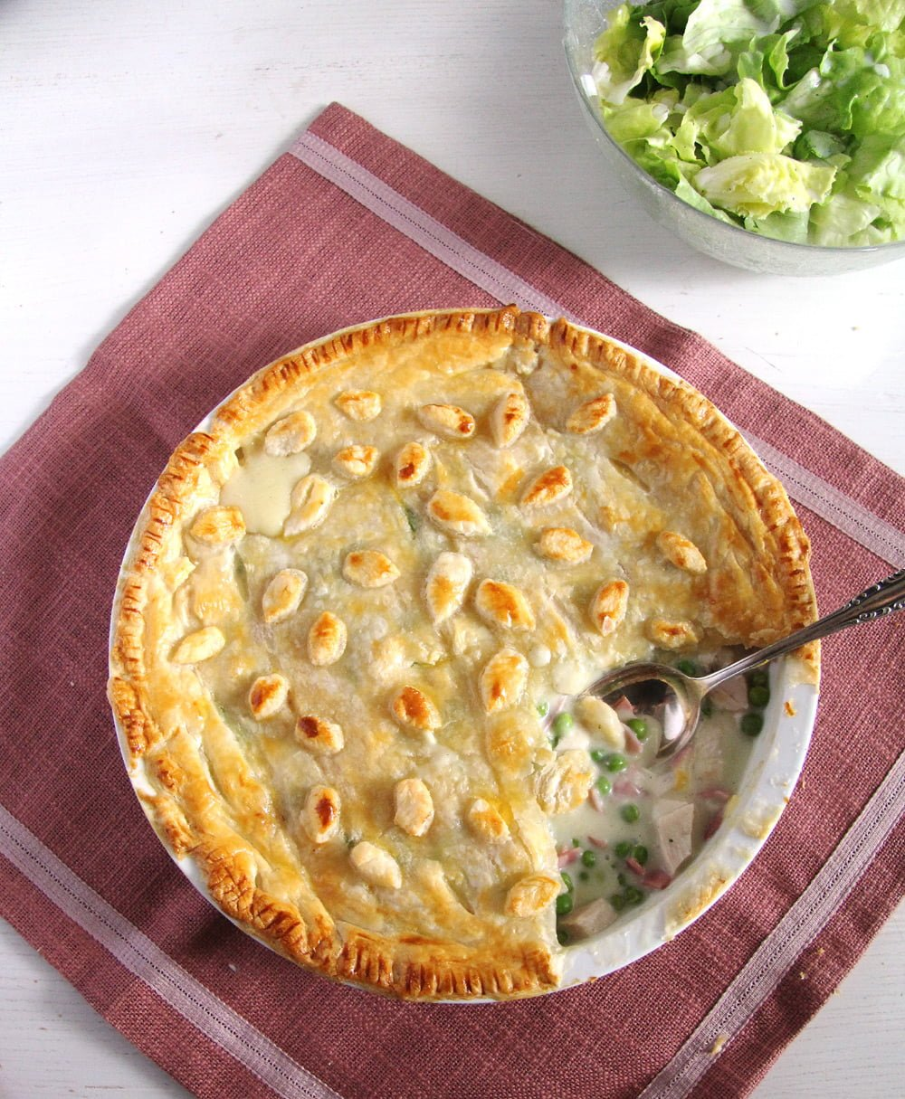 chicken ham pie Chicken and Ham Pie