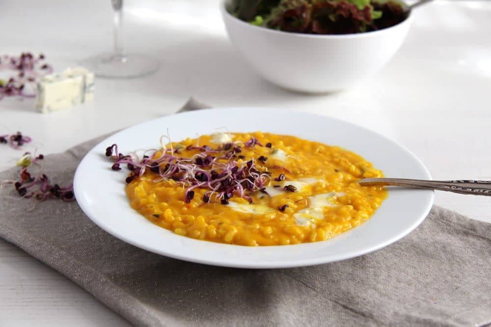 pumpkin risotto gorgonzola Pumpkin Gorgonzola Risotto