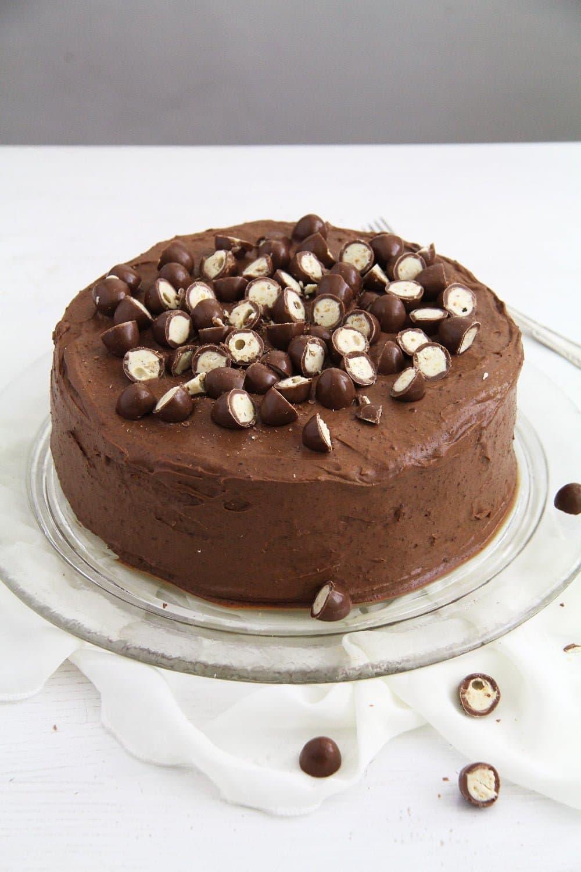 schoko bon cake Schoko Bons Torte with Hazelnuts and Mascarpone Filling