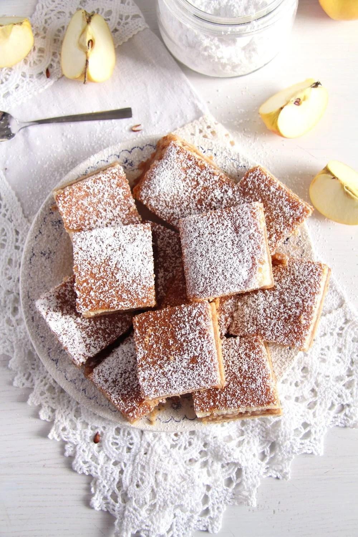 apple traybake cake The Softest Apple Cake