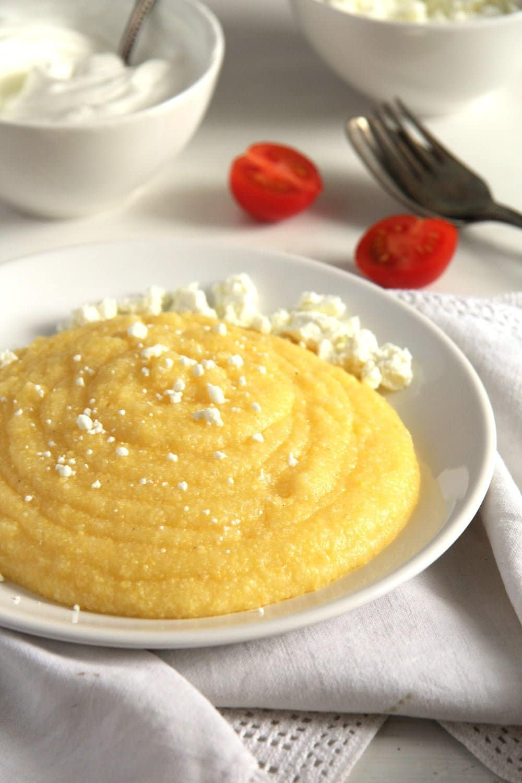 creamy polenta how to How to Cook Basic Polenta – Mamaliga