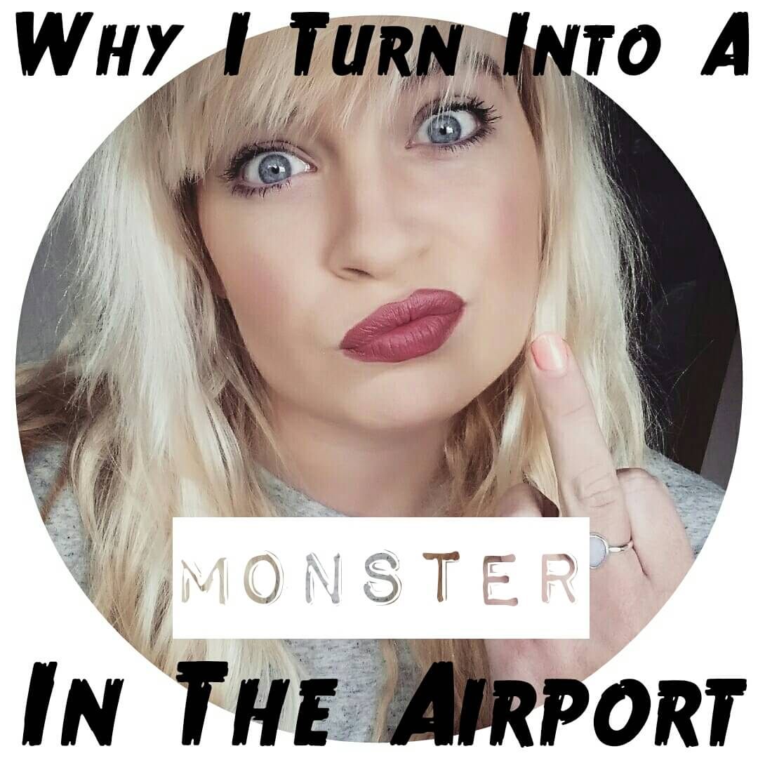 monster in the airport