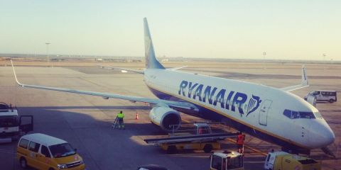 flying Ryanair